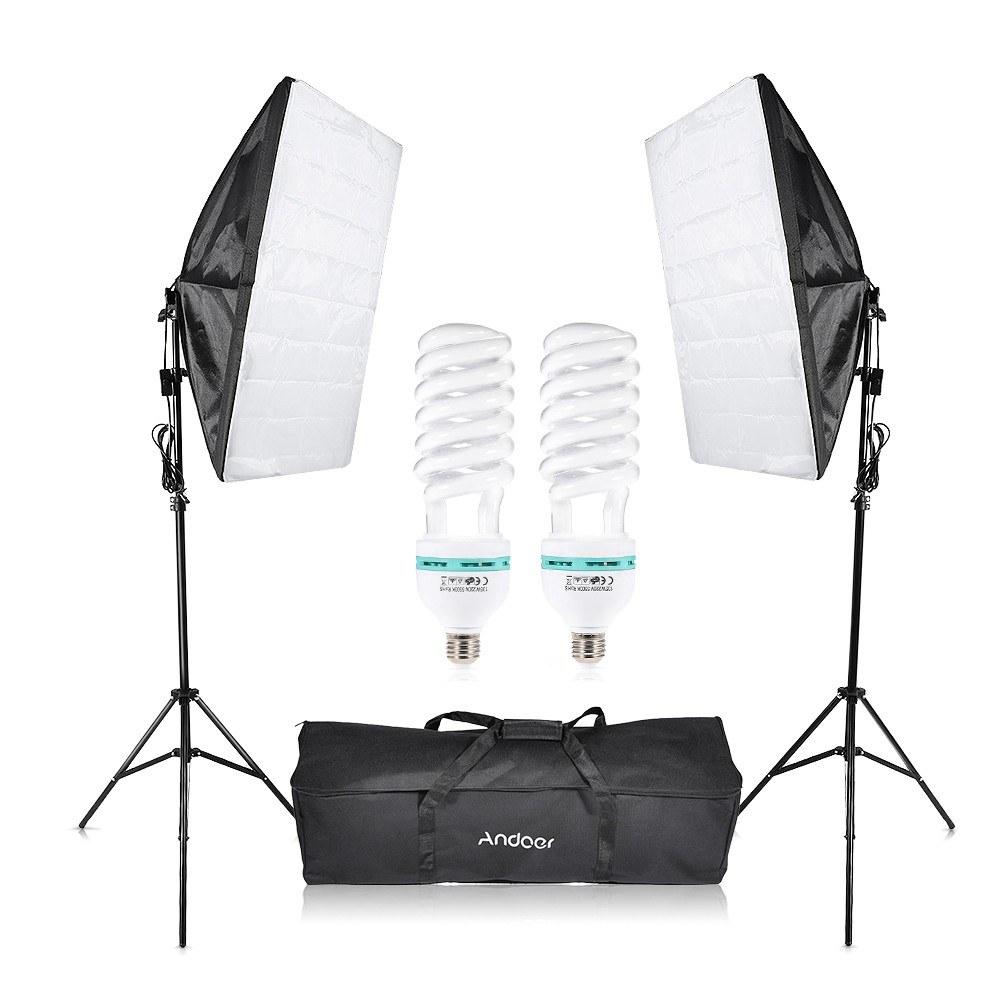 tomtop.com - [EU Warehouse] 60% OFF Andoer Photography Studio Cube Umbrella Softbox Light, $39.99+