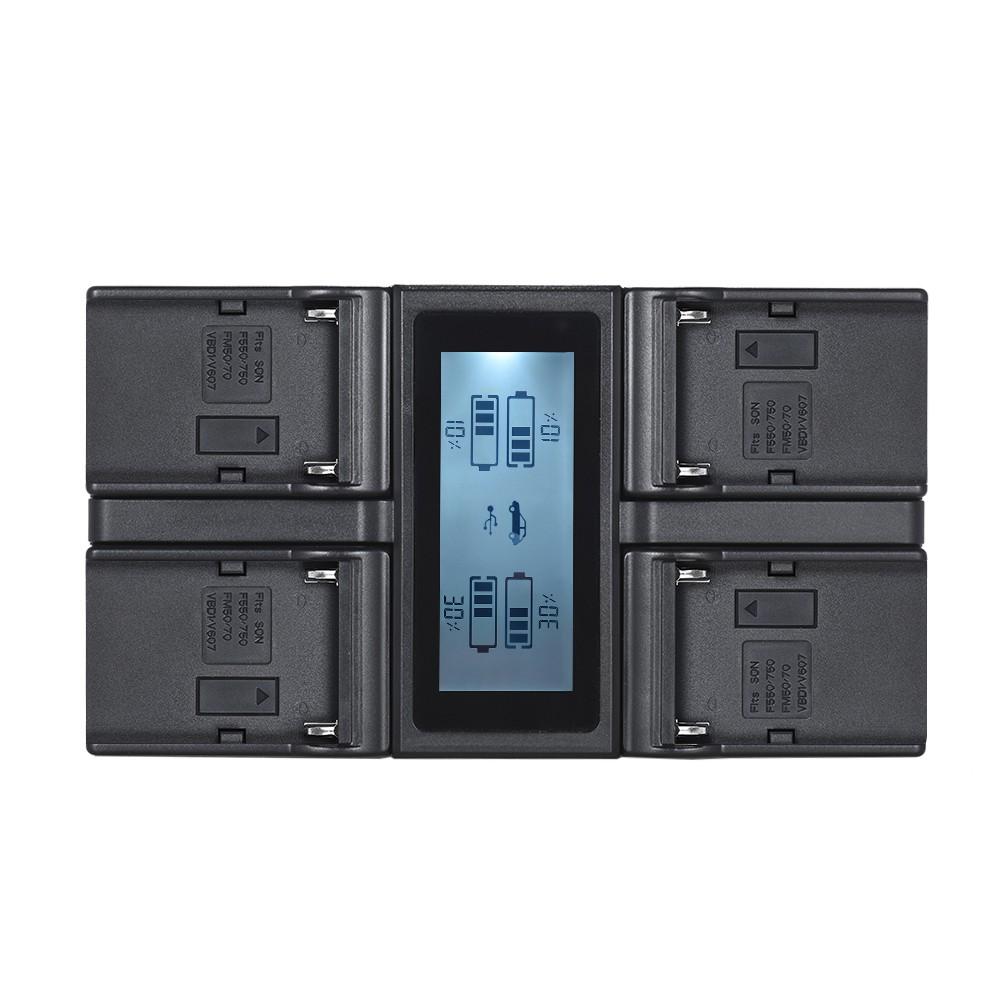 andoer np f970 chargeur de batterie pour appareil photo. Black Bedroom Furniture Sets. Home Design Ideas
