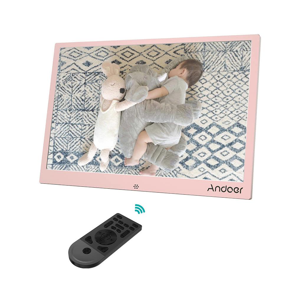 Beste Andoer 13inch LED Digitaler rosa eu stecker Verkauf Online ...