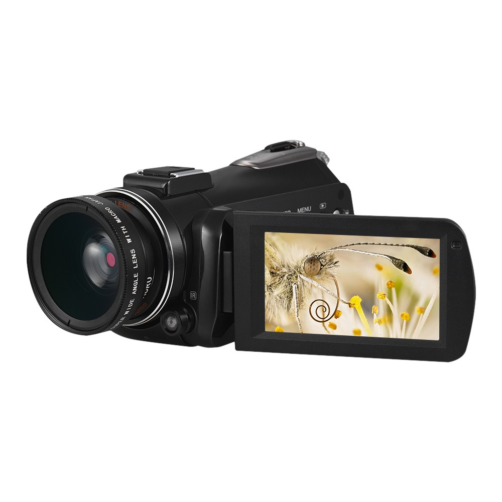 $10 OFF Andoer AC3 4K UHD 24MP Camcorder,free shipping $119.97