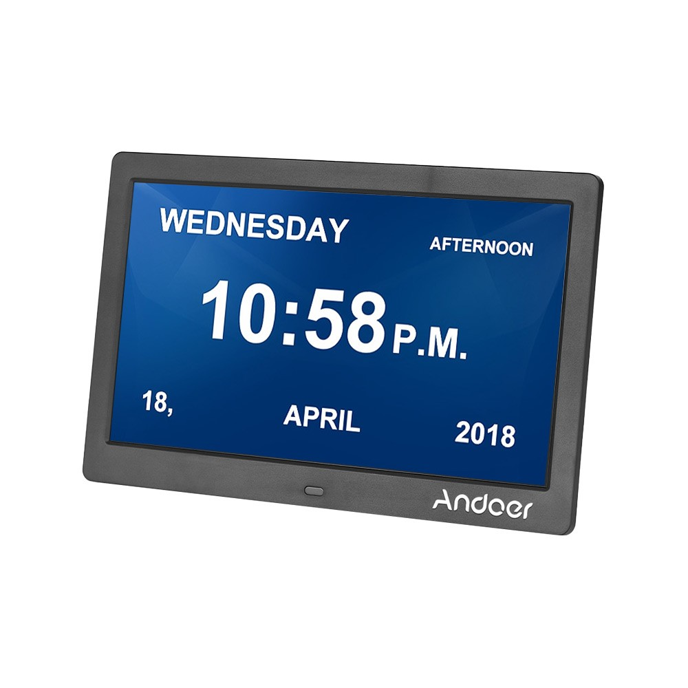 Andoer 10 Inch Digital Alarm & Photo Frame