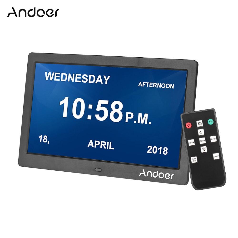 Cornice Digitale Con Sveglia E Calendario.Migliore Andoer 1024 600 Ips Orologio Digitale Sveglia Calendario E Vendita Cafago Com