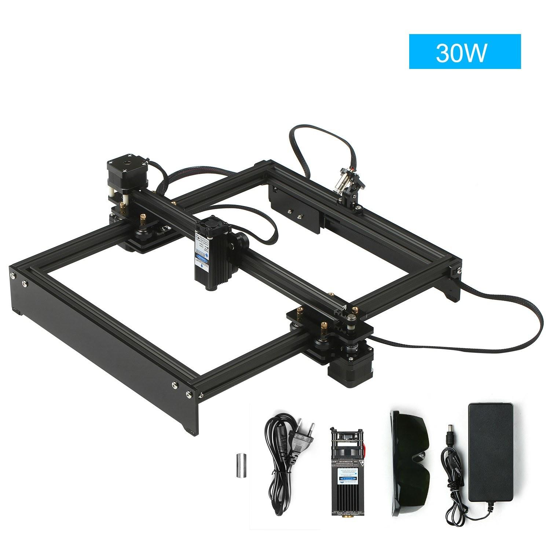 Tomtop - [EU Warehouse] 44% OFF 30W Laser Engraving Machine Off-Line Control Desktop DIY Laser Engraver, $225.99 (Inclusive of VAT)