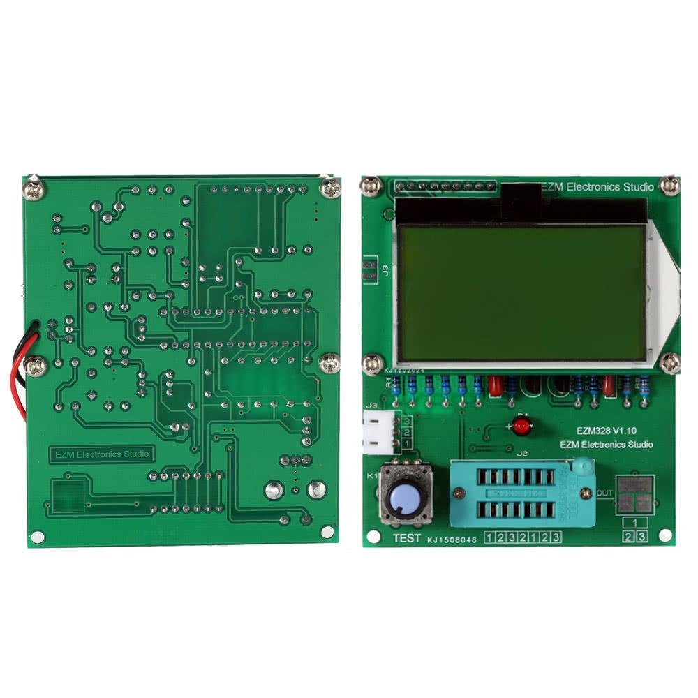 EZM328-Multifunktions 128 * 64 LCD Transistor Tester Diode ESR MOS ...