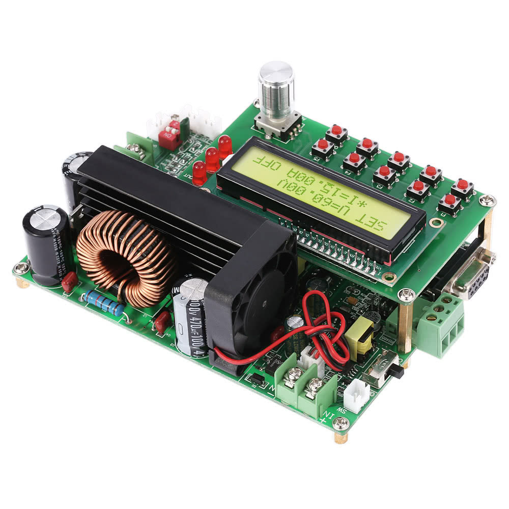 900w Programmable Digital Dc Converter Adjustable Step Down Lowe Tahiti Wiring Diagram Module Power Supply Cc Cv Lcd Display Ttl 15 80v To 0 60v 15a
