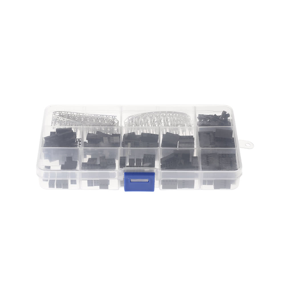 420pcs Colorful Jumper Wire Pin Header Connector Housing Kit and M/F ...
