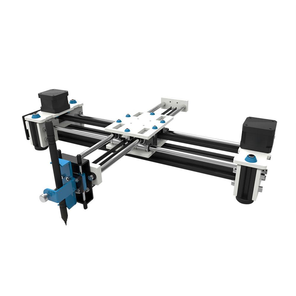 EleksMaker Desktop EleksDraw USB DIY XY Plotter Pen Drawing Robot Drawing  Machine 100-240V
