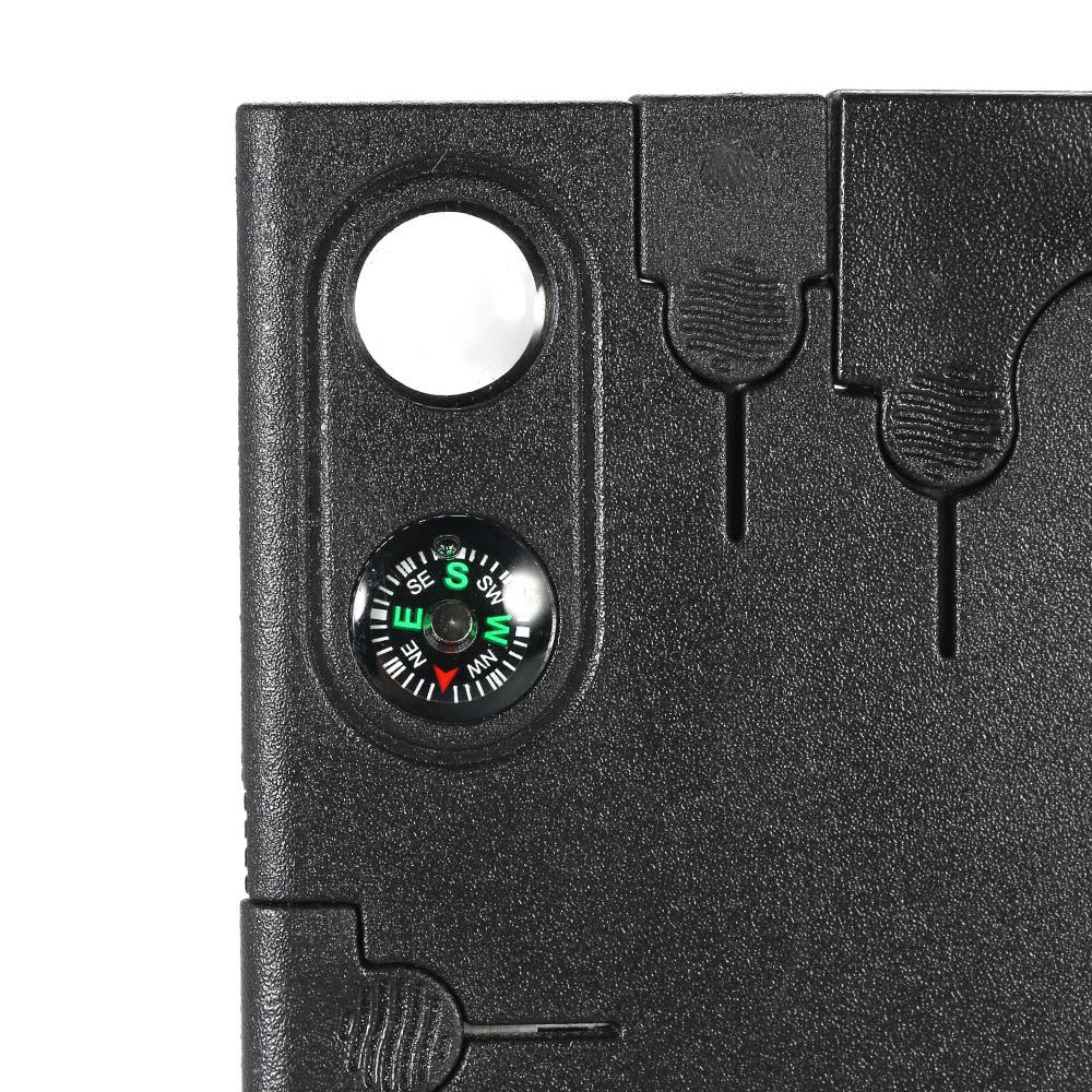 12-in-1 Multi-purpose Credit Card Survival Tool Multitool with ...