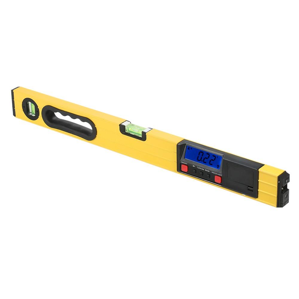 400mm Digital Laser Measuring I-Beam Spirit Level Angle Gauge Finder  Torpedo Level with Magnetic Base Backlight LCD Display