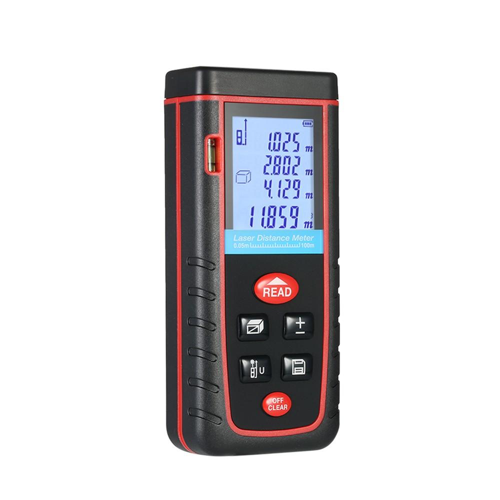 KKmoon 100m//80m//60m//40m Mini Handheld LCD Num/érique Laser Distance M/ètre Haute pr/écision T/él/ém/ètre Distance Zone Mesure de Volume 30 Groupes Stockage de Donn/ées