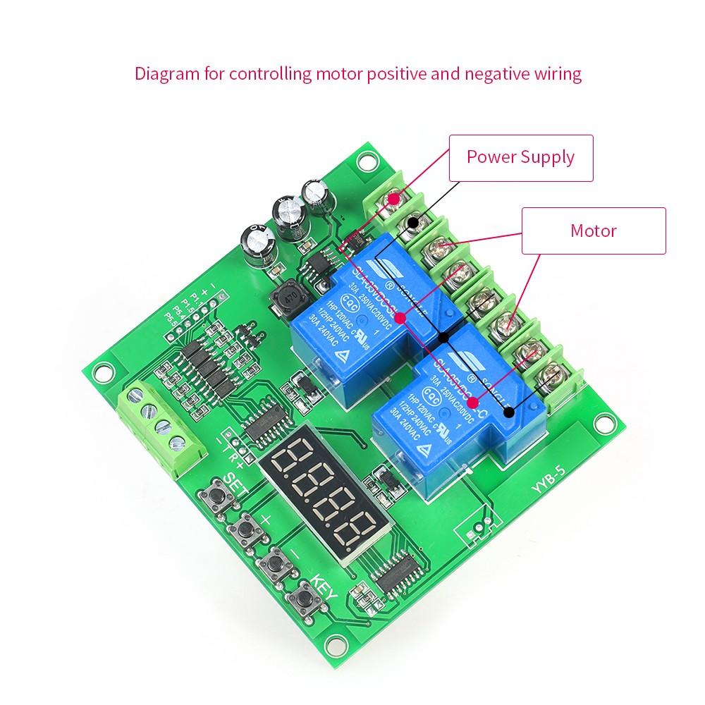 12v 24v 2 Channel Motor Driver Shield Board 30a Led Relay Module For Wiring Diagram Arduino Raspberry Pi