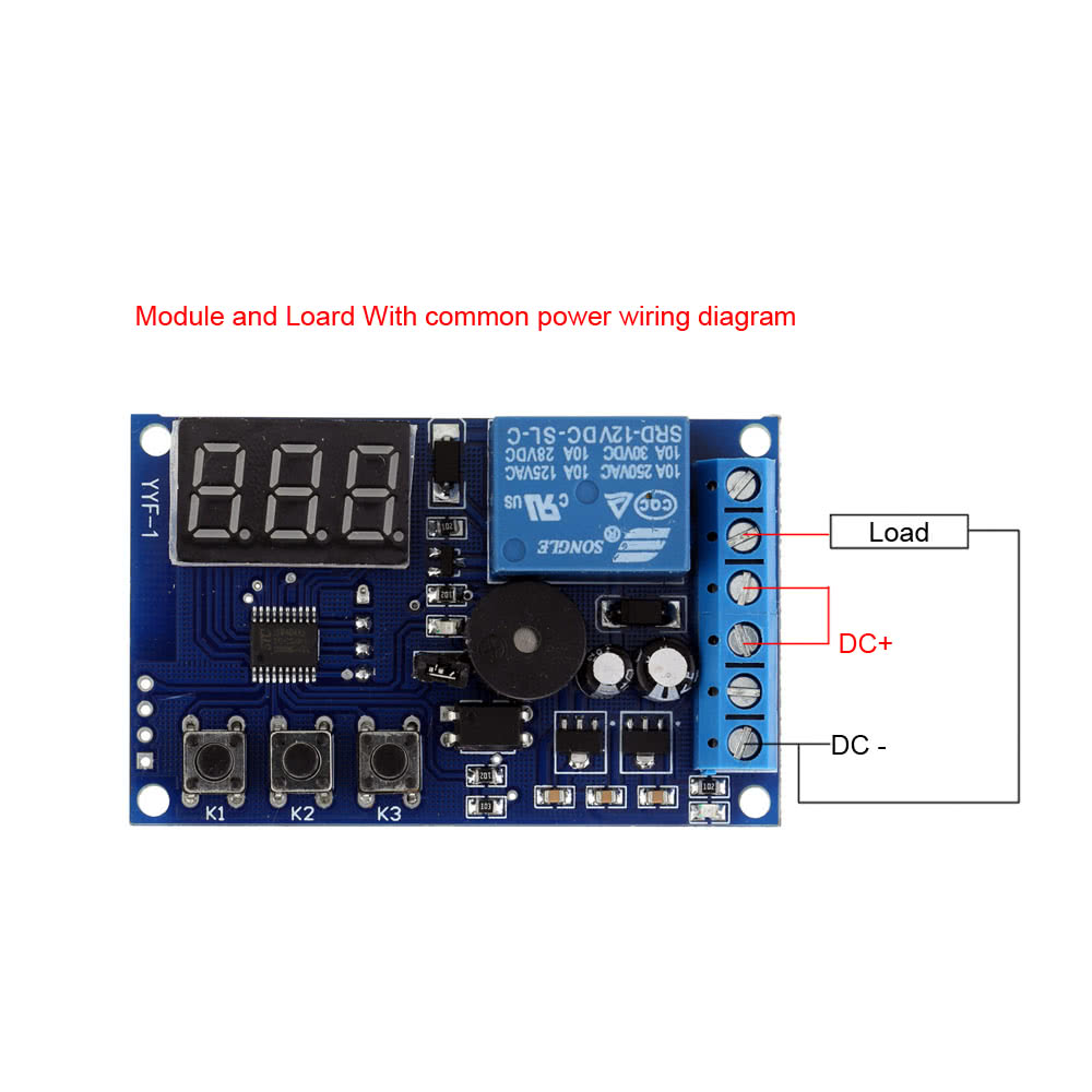 Charging Discharge Voltage Monitor Test Relay Switch Control Board Module Dc 12v