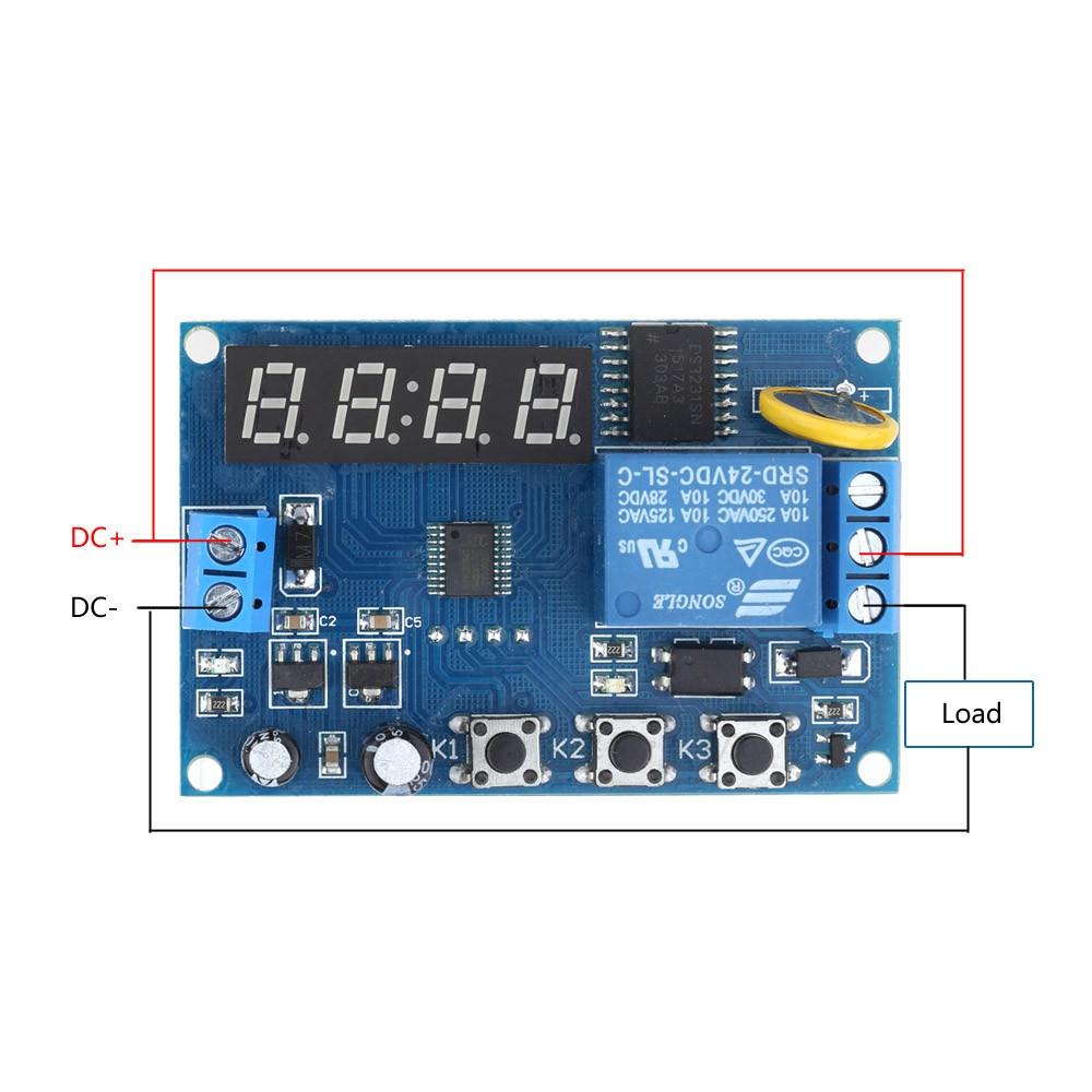 Multifonctions temps relais module calendrier interrupteur - Point relais temps l ...