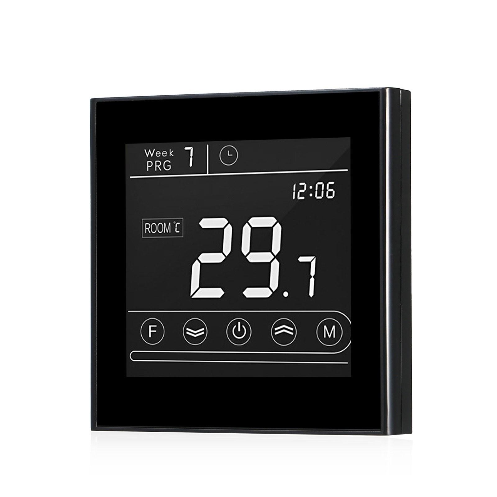 Regolatore di Temperatura termostato programmabile Digitale Fait per Sistema di Riscaldamento di caldaie murali utilizzate per apparecchiature di Riscaldamento Elettrico 1#