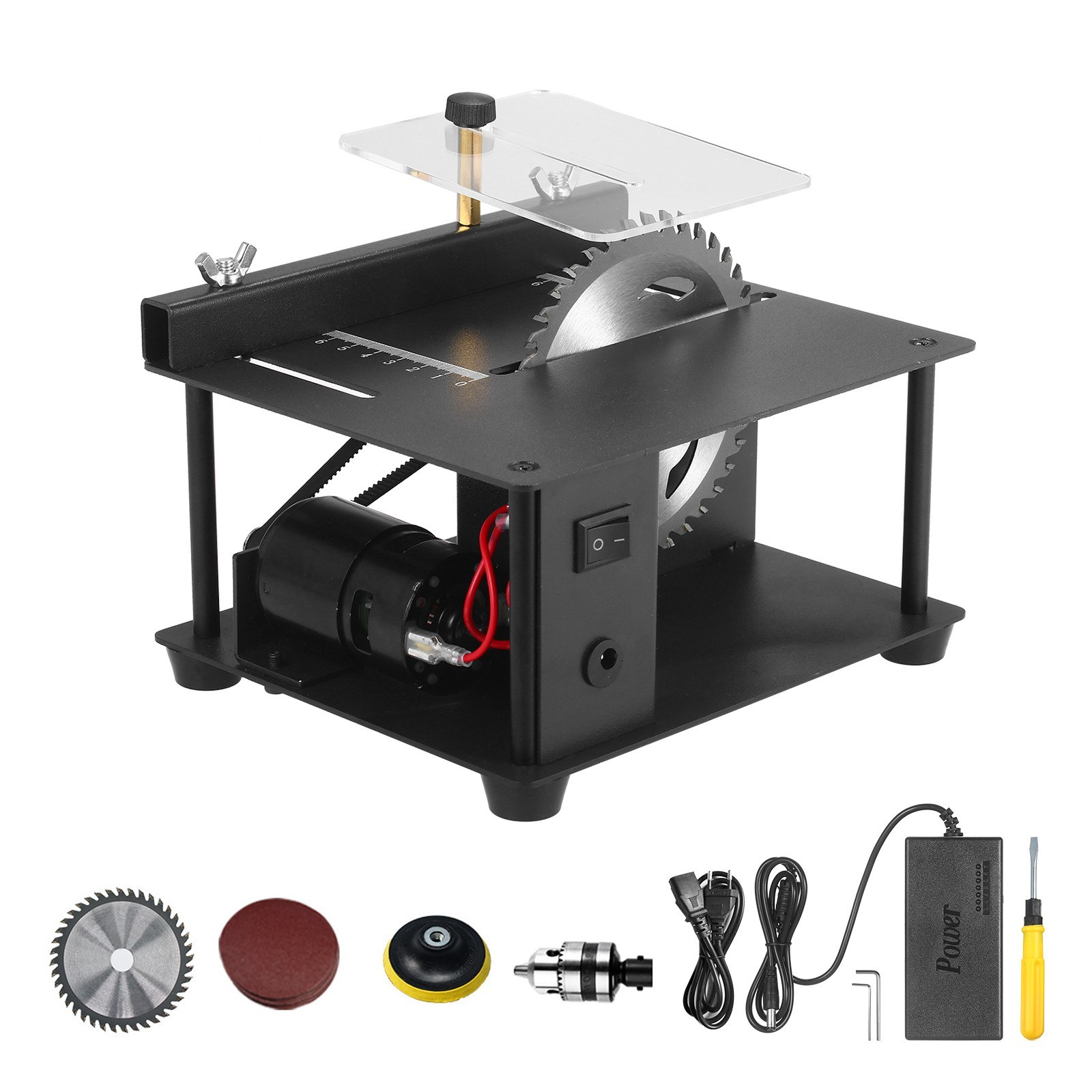 Tomtop - 38% OFF Multi-Functional Table Saw Mini Desktop, Free Shipping $85.49