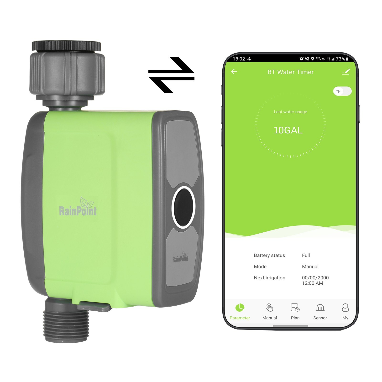 tomtop.com - 38% OFF Programmable BT WiFi Water Timer, Free Shipping $43.49