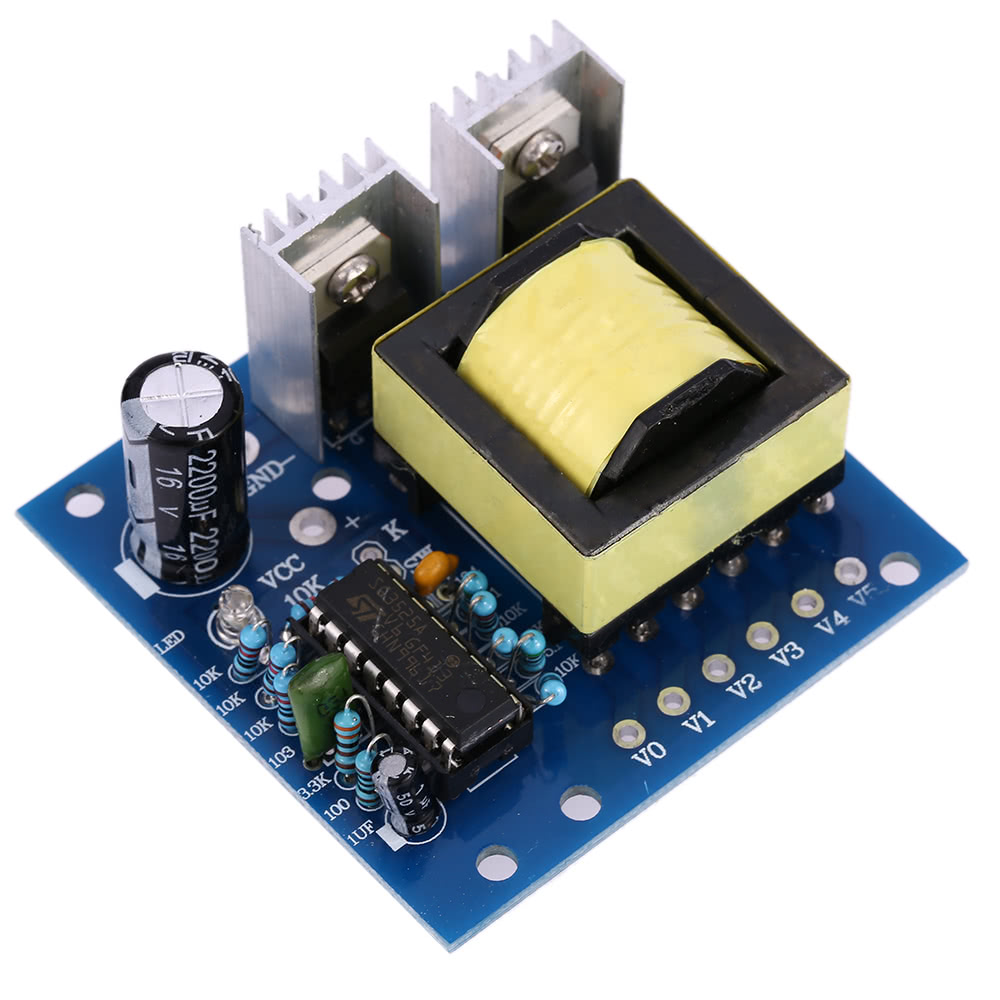 150w Dc 12v To Ac 110v 220v Inverter Boost Module Board Transformer Download Image Converter Circuit Pc Android Iphone Power Car Sales Online Black Red Tomtop