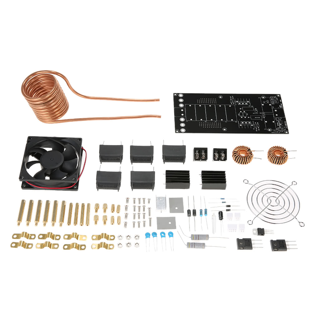 Diy Induction Heater Circuit For Pinterest Dc12 40v 1000w 20a Zvs Heating Board Module Kit Coil