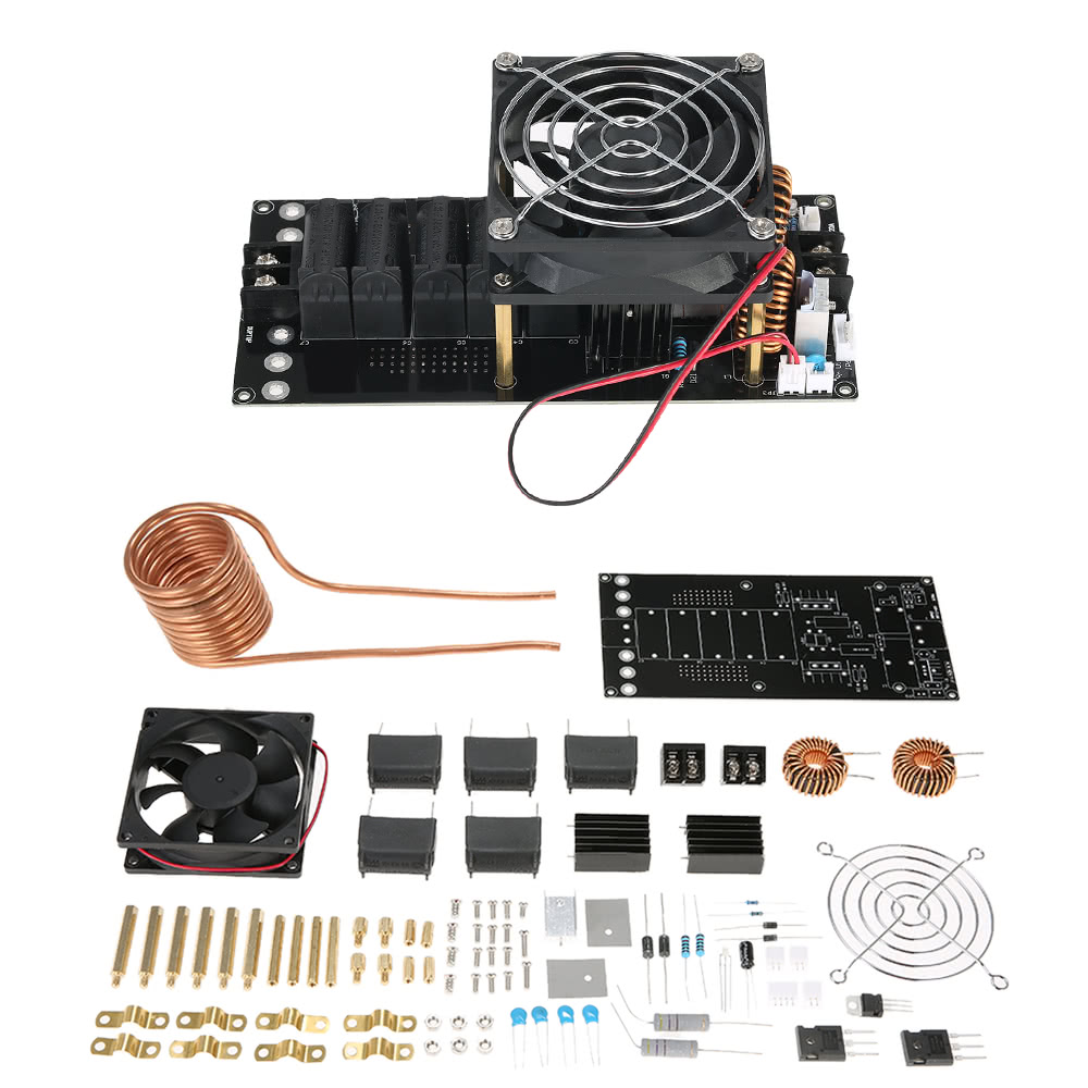Dc12 40v 1000w 20a Zvs Induction Heating Board Module Heater Diy Kit Wiring Switch For Bathroom Faa Coil Sales Online 1 Tomtop