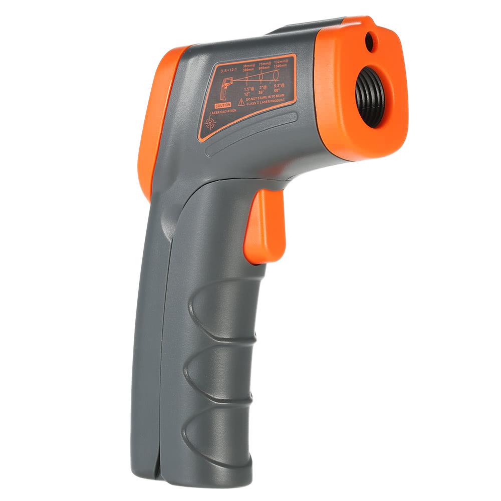 SMART SENSOR -32uff5e380u2103 12:1 Portable Handheld Digital Non-contact IR Infrared Thermometer Temperature Tester Pyrometer LCD Display Backlight Centigrade Fahrenheit