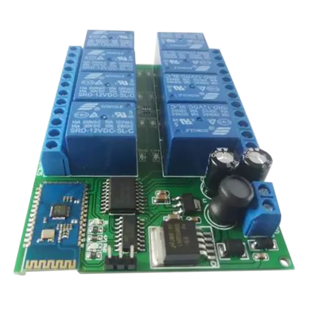 12v 8ch Android Bt Relay Board Wireless Control Remote Switch Intelligent Home Lighting Sales Online Tomtop