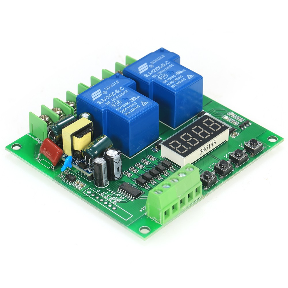220v 2 Channel Motor Driver Shield Board 30a Led Relay Module For Arduino Raspberry Pi