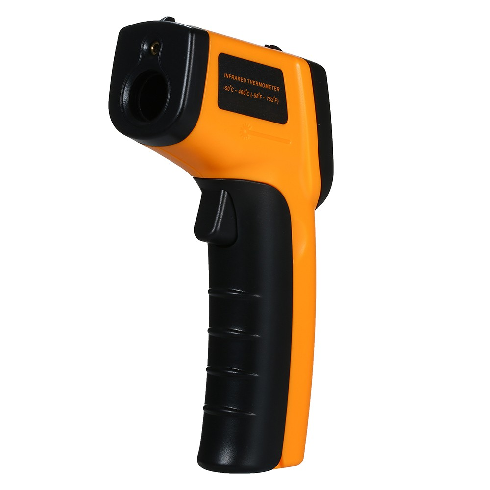 Non-Contact Handheld Digital Thermometer Laser LCD Display IR Infrared Surface Temperature Tester 12:1 Thermometer Pyrometer -50uff5e400u2103(-58uff5e752u2109)