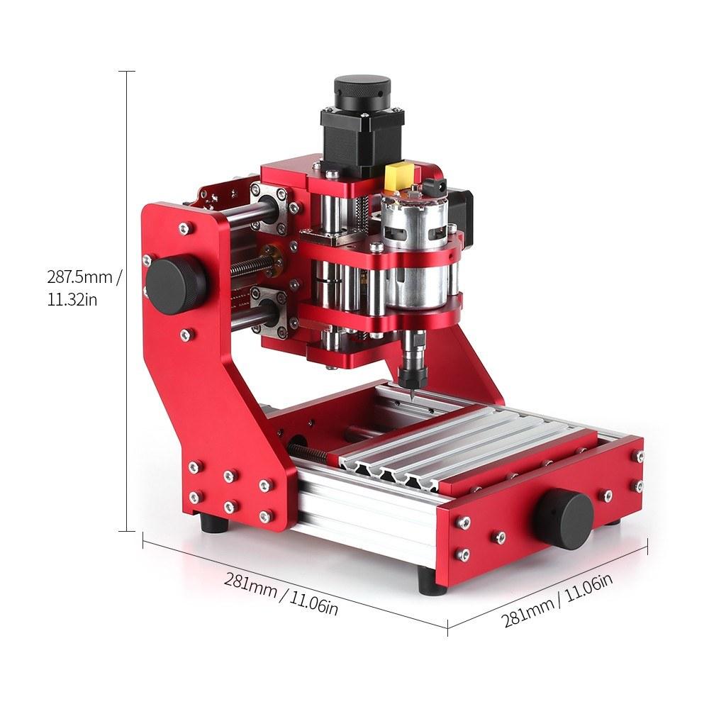 Mini Cnc Router 1310 Cnc Metal Engraving Milling Machine Kit Pcb