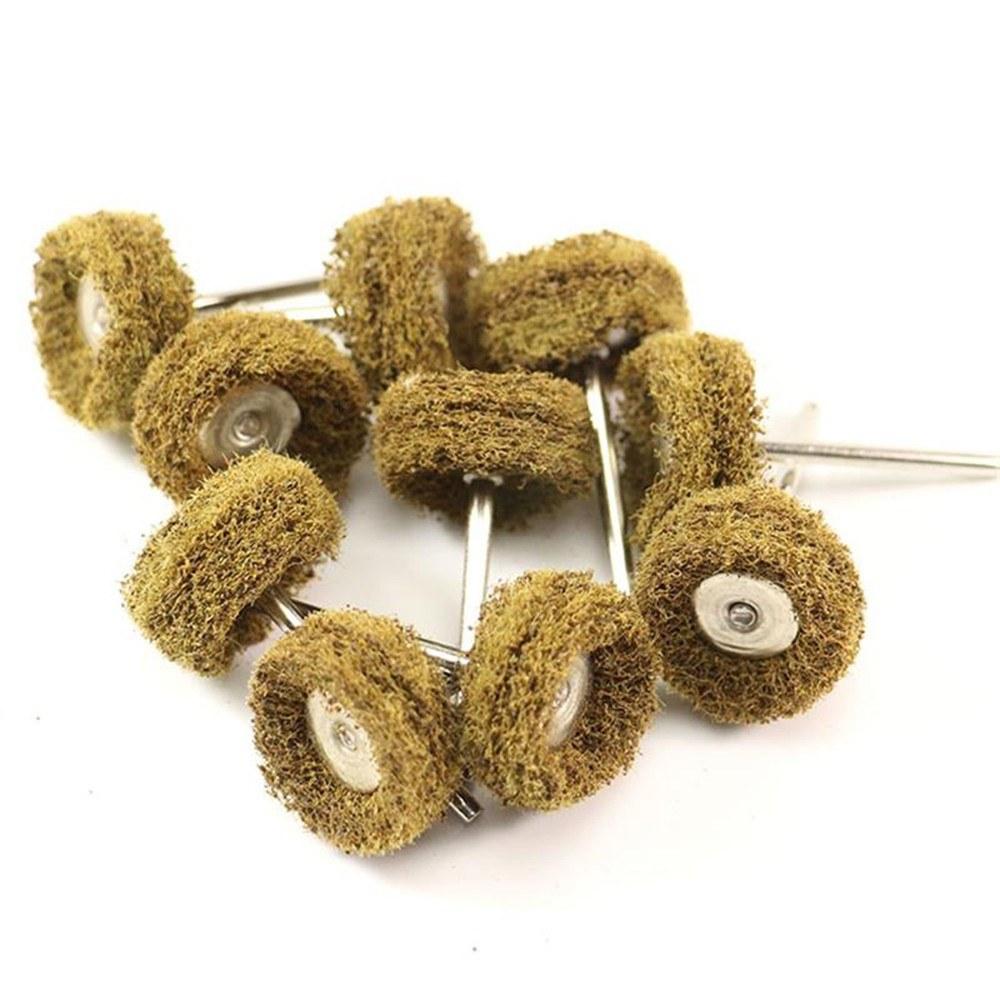 40pcs/Set Mini Brush Scouring Pad Abrasive Wheel