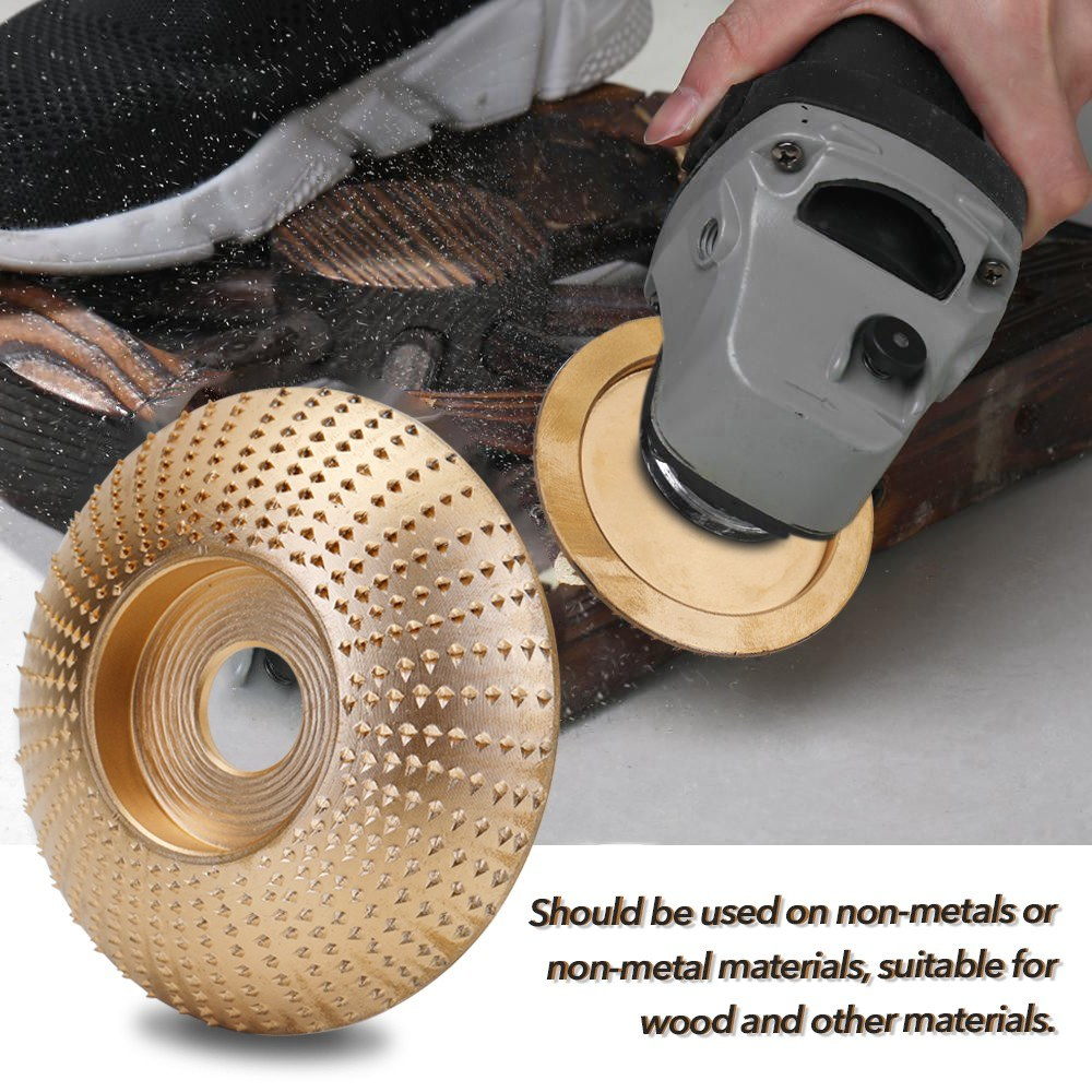 Woodworking Wood Angle Grinding Wheel Sanding Carving