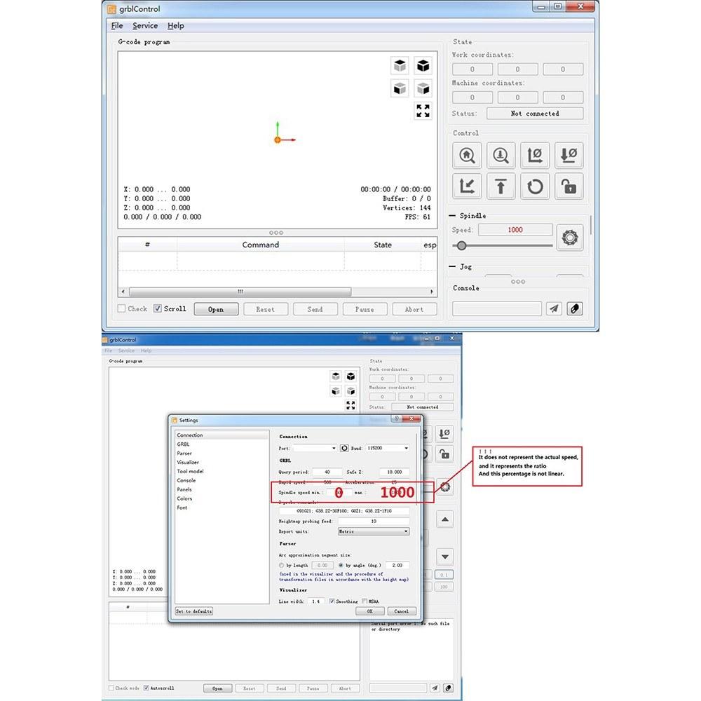 Upgrade Version CNC 3018 GRBL Control DIY Mini CNC Machine Working Area  300*180*40mm