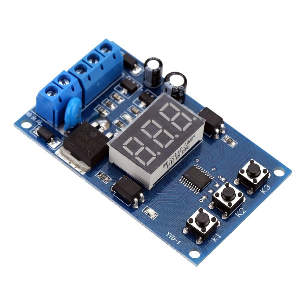 multi function mos de commande relais cycle timer module delay temps interrupteur cc 12 24v. Black Bedroom Furniture Sets. Home Design Ideas