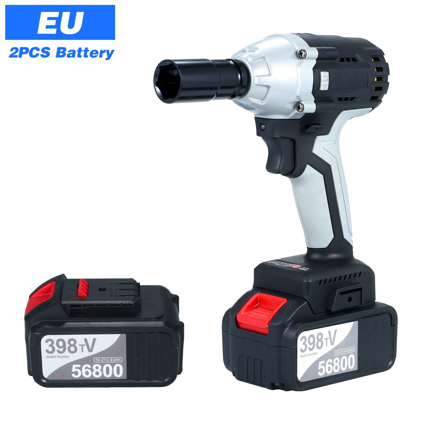 Tomtop - [EU Clearance Sale] 49% OFF Brushless Impact Wrench Cordless Electric Impact Wrench, $69.99 (Inclusive of VAT)