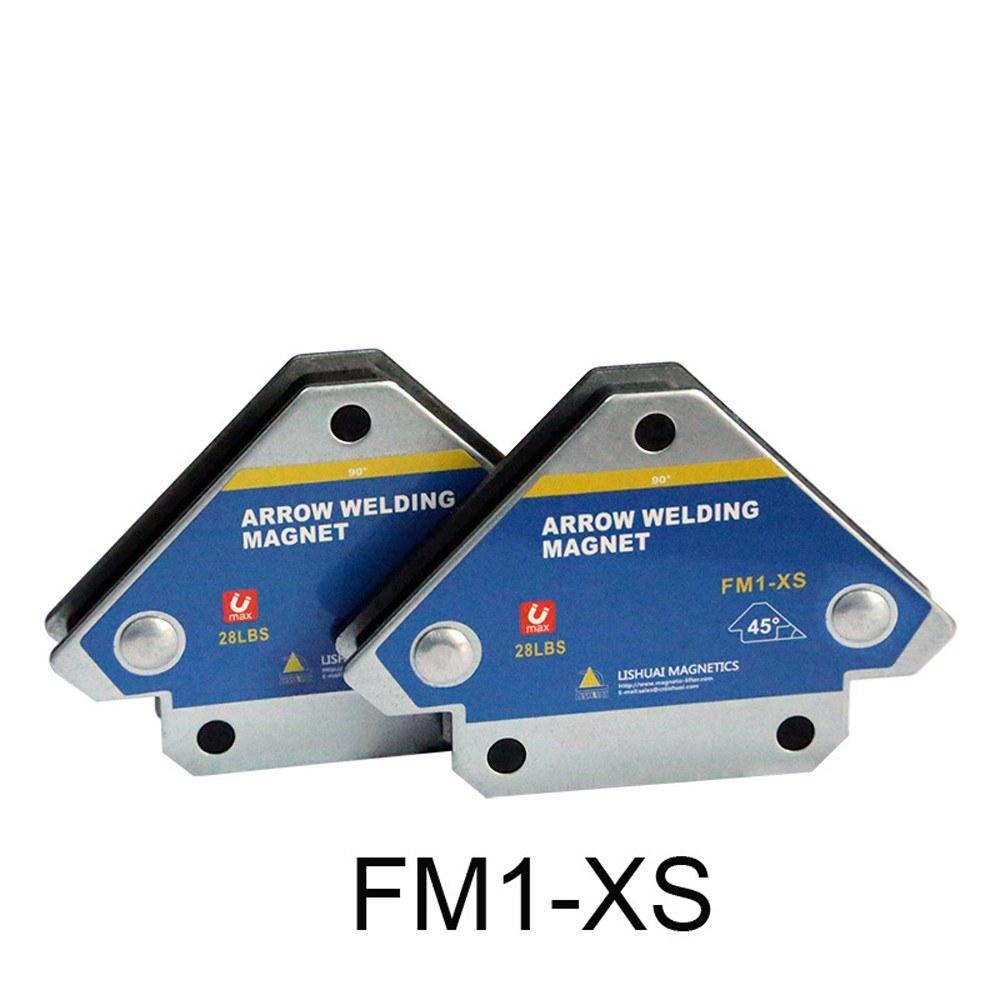 4 pezzi di fissaggio magnetico per saldatura 45 /° 90 /° 135 /° Posizionatore di saldatura a magnete multi-angolo Strumenti di localizzazione ausiliaria in ferrite