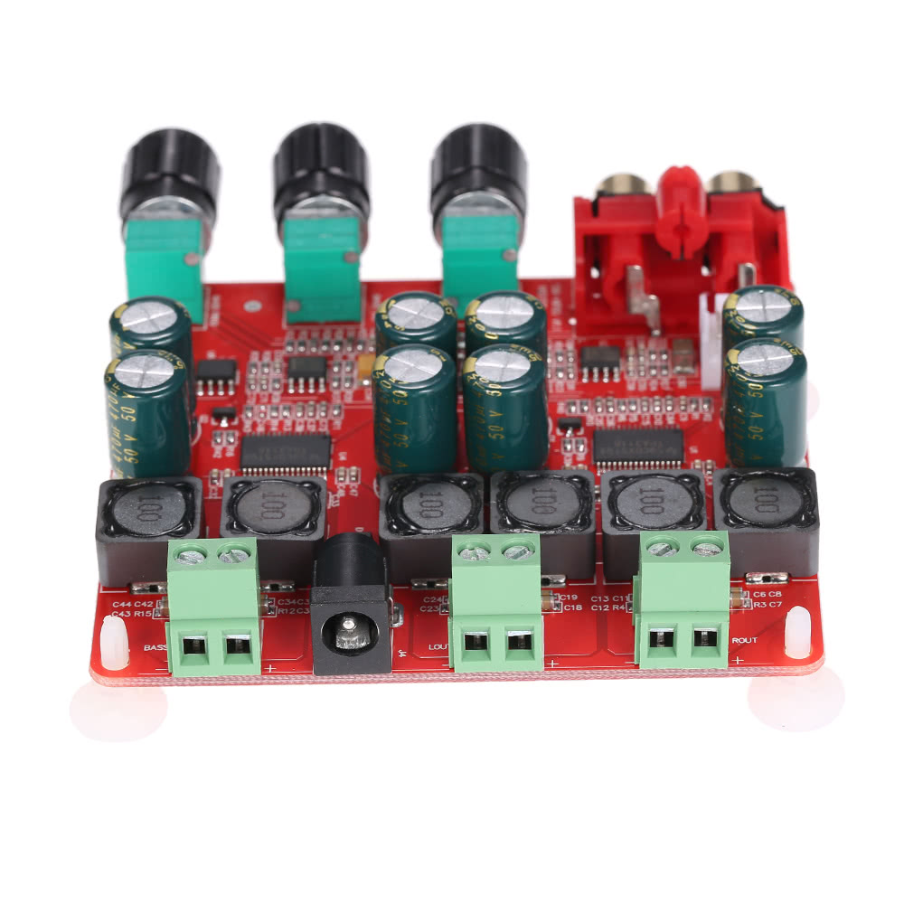 Tpa3118 21 Channel Digital Stereo Subwoofer Power Amplifier Board 2 8 Ohm With 60w Output 30w2 60w1 Match 4 6 Audio Terminals Item Size 95 85 25mm 374 335 098in L W H