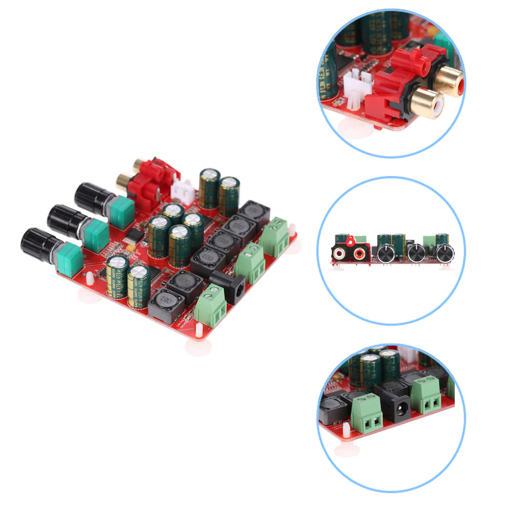 Tpa3118 21 Channel Digital Stereo Subwoofer Power Amplifier Board 2 How To Build 60w 8 230w Dc12v 26v