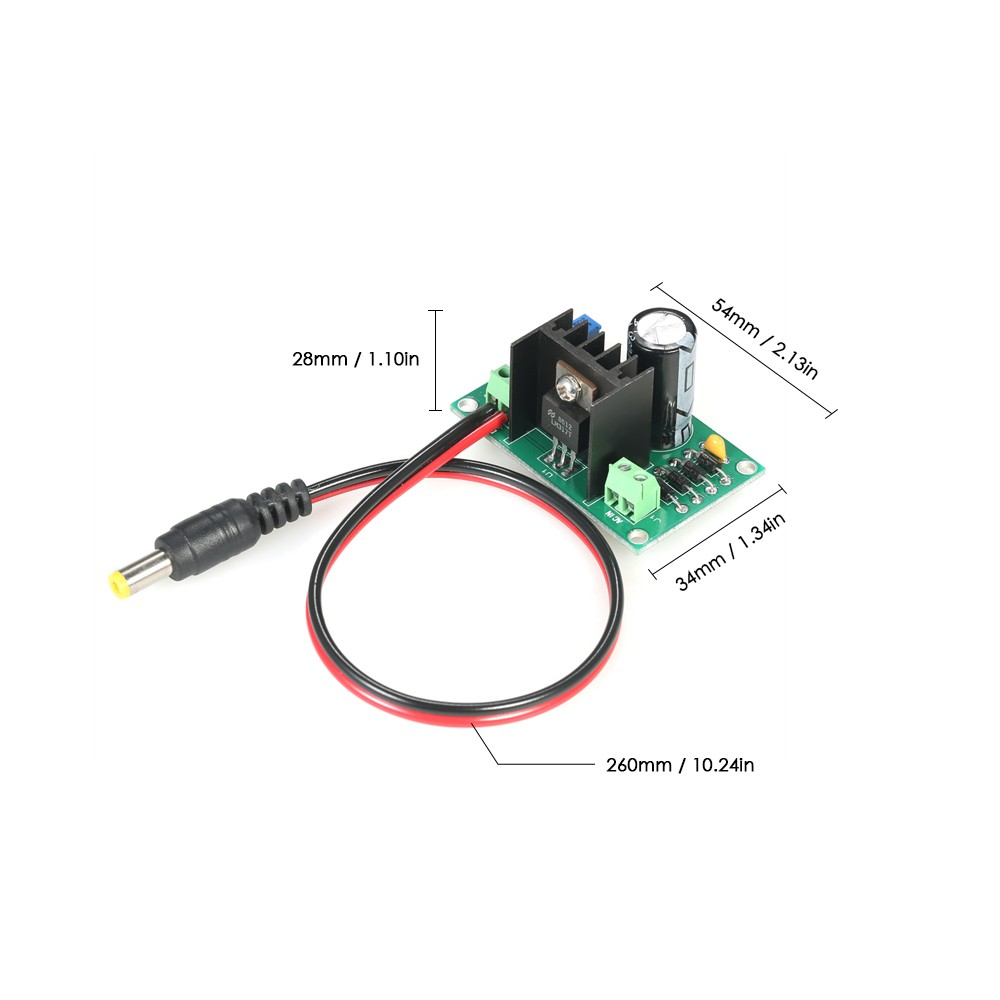 Best Lm317 125v 22v Continuously Adjustable Regulated Voltage Power 10a 1 30v Variable Supply With Diy Kit User Manualenglish