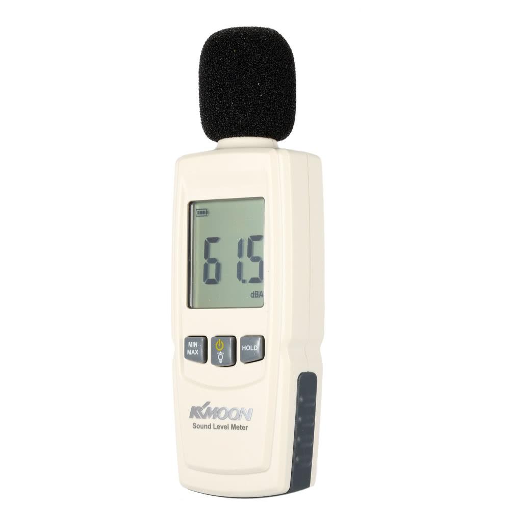 Volume Level Meter : Lcd digital sound level meter noise volume measuring