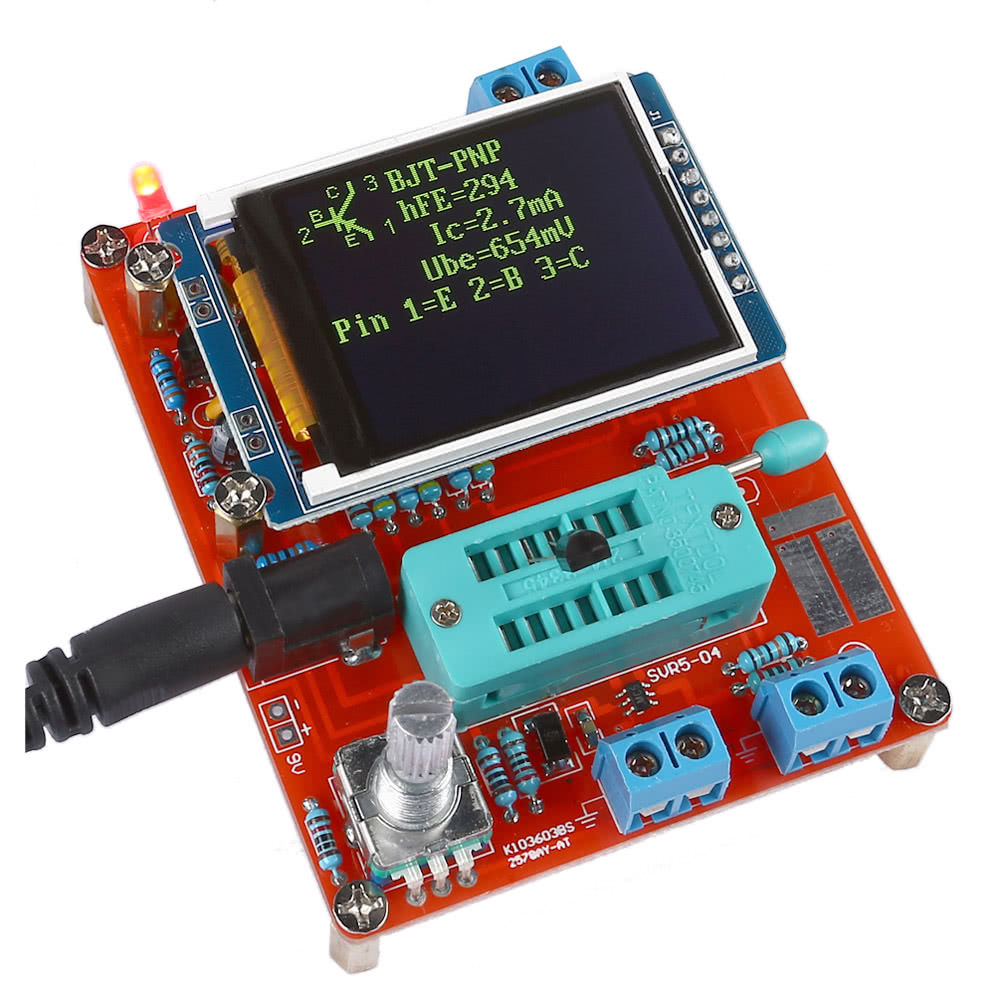 Gm328 Multifunctional Lcd Transistor Tester Diy Kit Diode In Circuit For Scr Diodes And Transistors Capacitance Voltage Meter Pwm Square Wave Signal Generator With Acrylic Case Sales Online