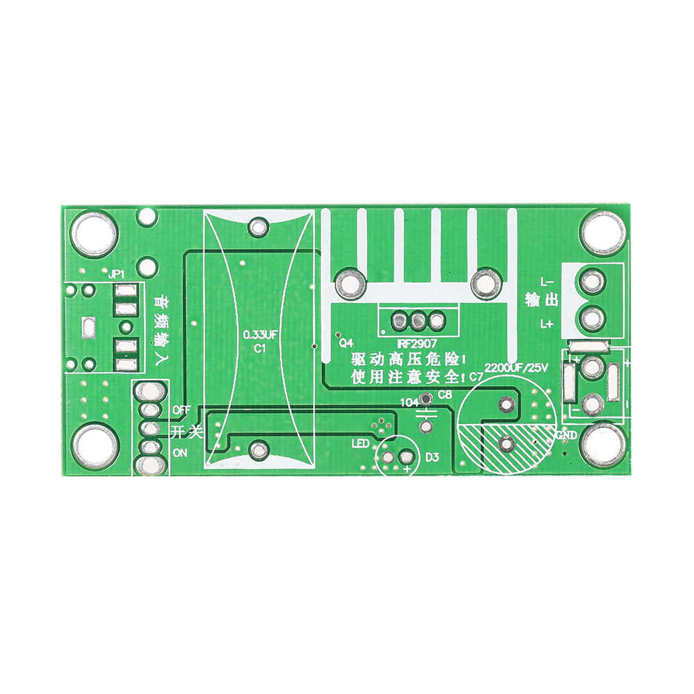 20KV ZVS Tesla Coil Booster High Voltage Generator Plasma Music Arc Speaker  Kits Driver Board DIY Kit + Ignition Coil + Spray Point