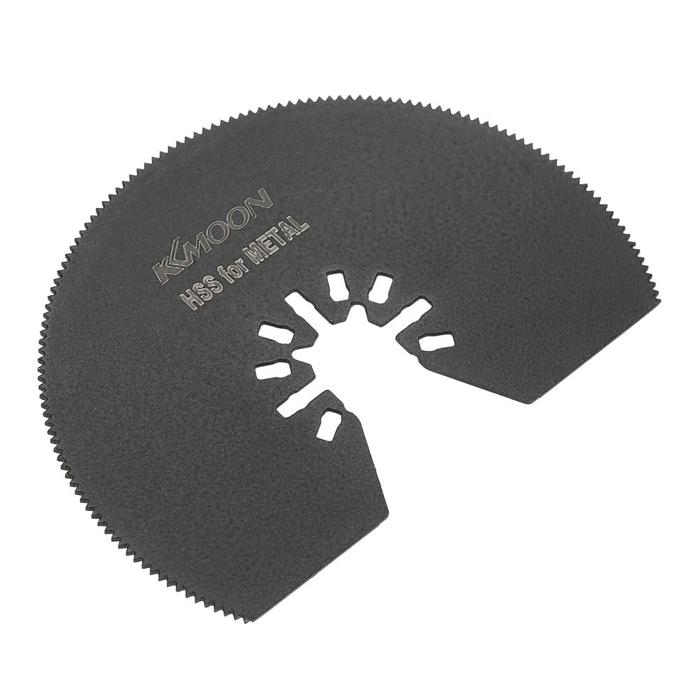 KKmoon 12pcs Oscillating Saw Blade Quick Release Kit Multi Tool Saw Blades  for Dremel Fein Multimaster Makita Bosch Rockwell Sonicrafter Worx