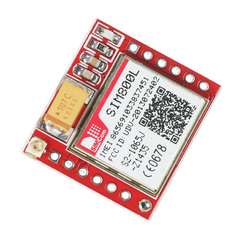 SIM800L GPRS GSM Module Micro SIM Card Core Board Quad-Band TTL Serial Port  Sales Online - Tomtop