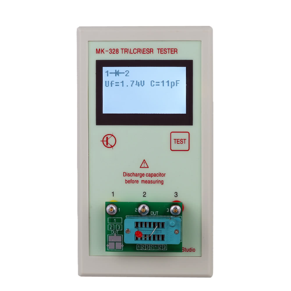 Best Portable Mk328 12864 Lcd Transistor Sale Online Shopping Tester For Repair