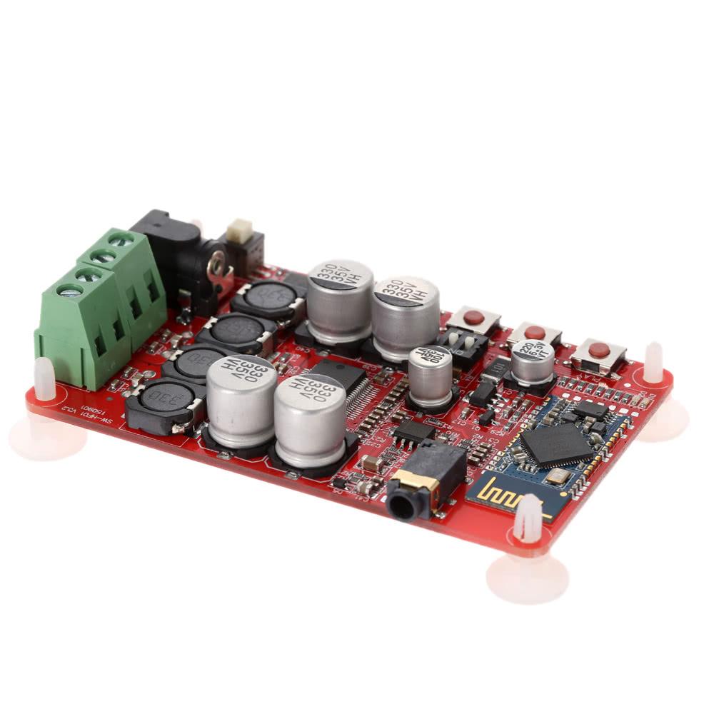 Best Tda7492p 225w Wireless Bluetooth V40 Audio Receiver Digital 25w Amplifier Circuit Board Module