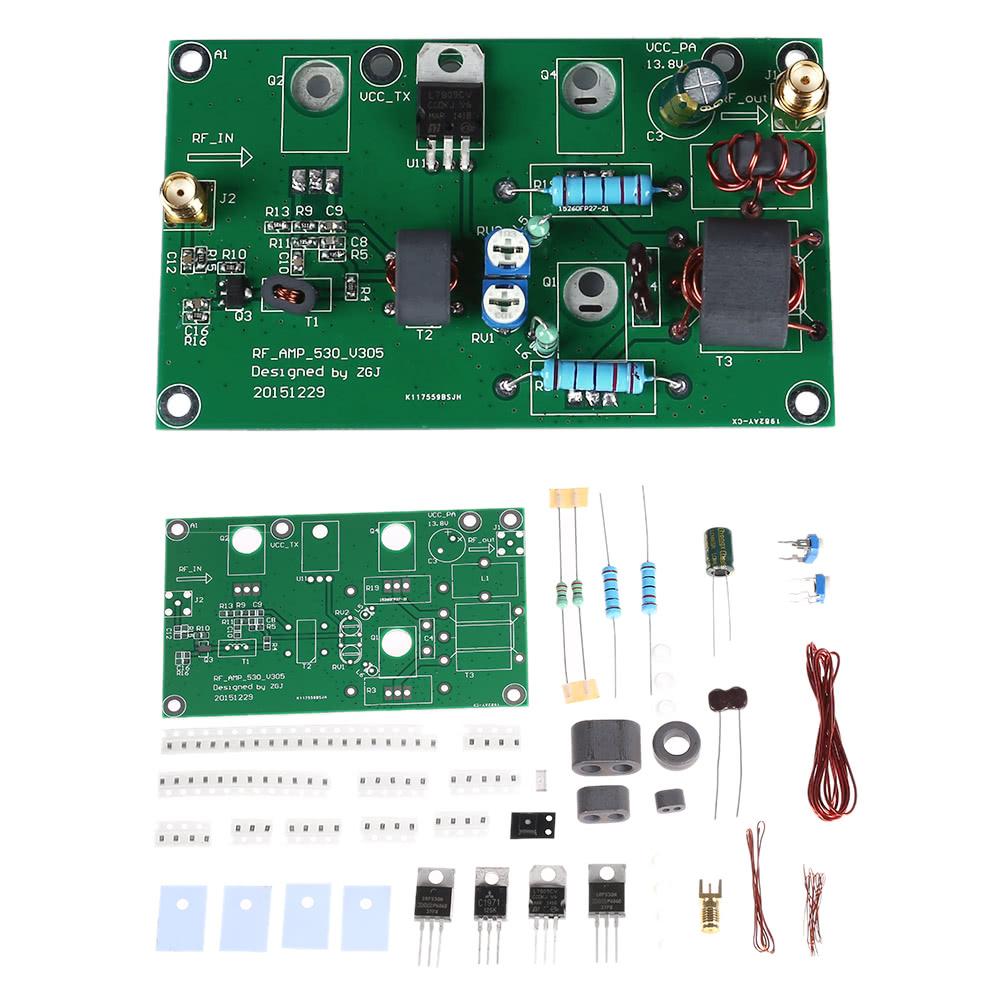 45W SSB AM Linear Power Amplificateur CW FM Power Amplifier HF Radio  Transceiver Shortwave DIY Kit Signal Amplification