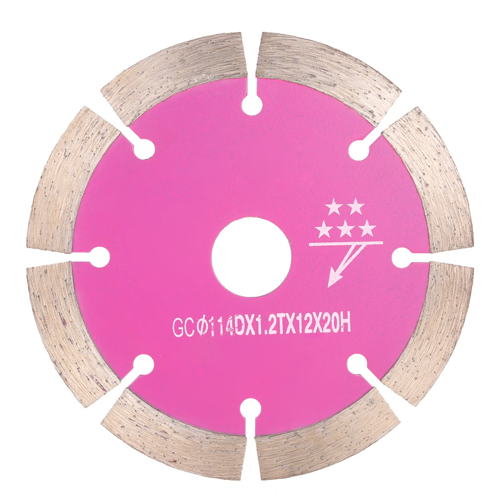 1141820mm Dry Cutting Segmented Diamond Saw Blade With Cooling