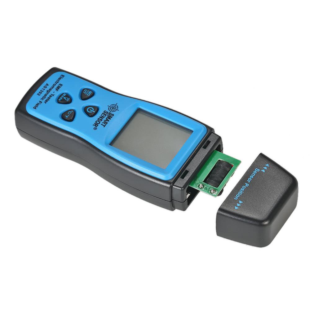 SMART SENSOR Handheld Mini Digital LCD EMF Tester Electromagnetic Field  Radiation Detector Meter Dosimeter Tester Counter