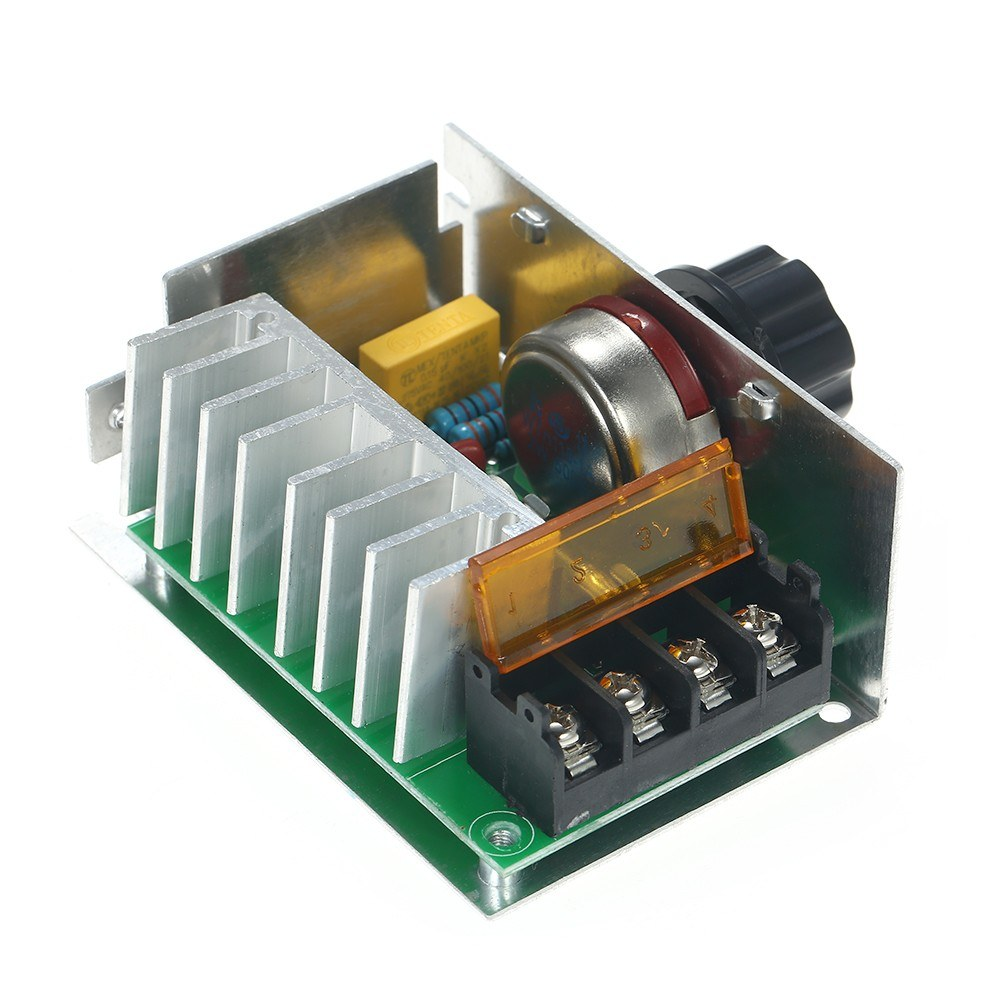 4000w Ac220v High Power Scr Electronic Voltage Regulator Dimmer Circuit Thermostat Speed Controller Temperature Governor Monitor Module Sales Online Tomtop