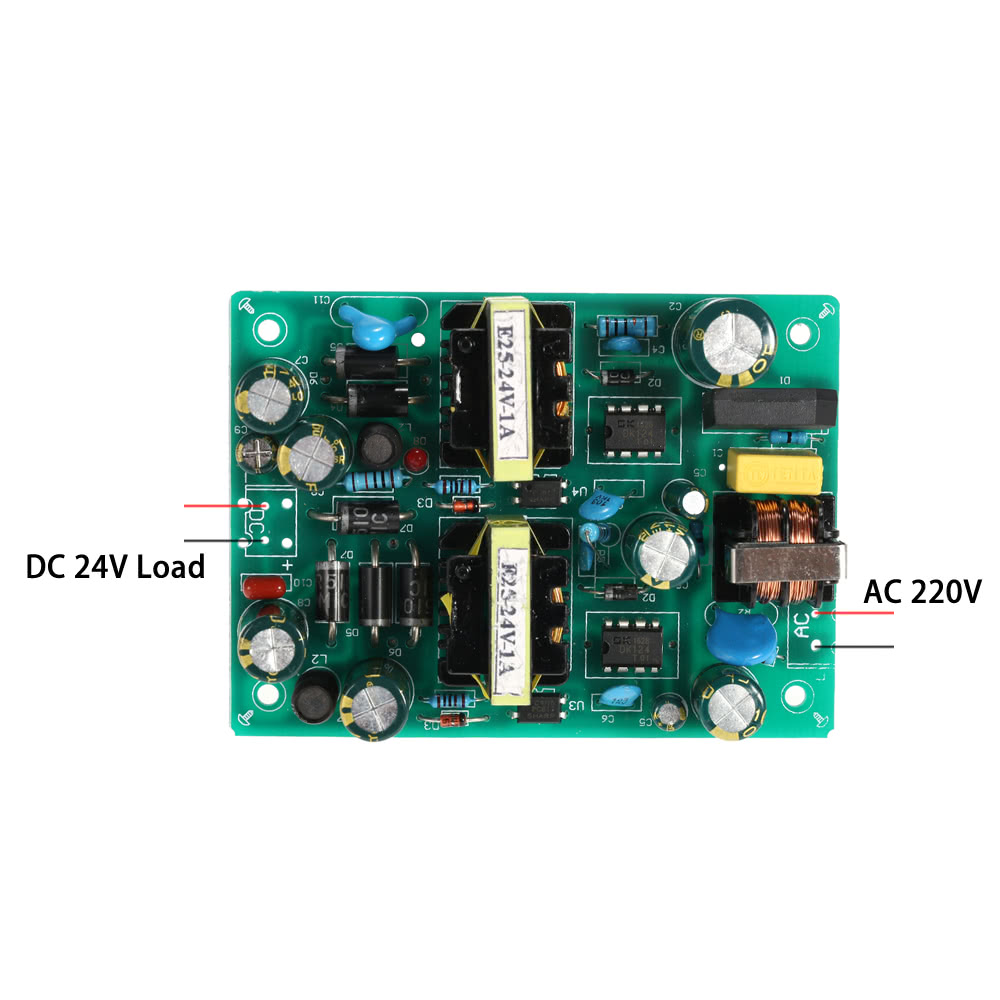 Stable Switching Power Supply Module Input Ac220v Output Dc24v 2a Protectors Circuit On Smps 48w Dual Channel With Short Overload Protection Sales Online Tomtop