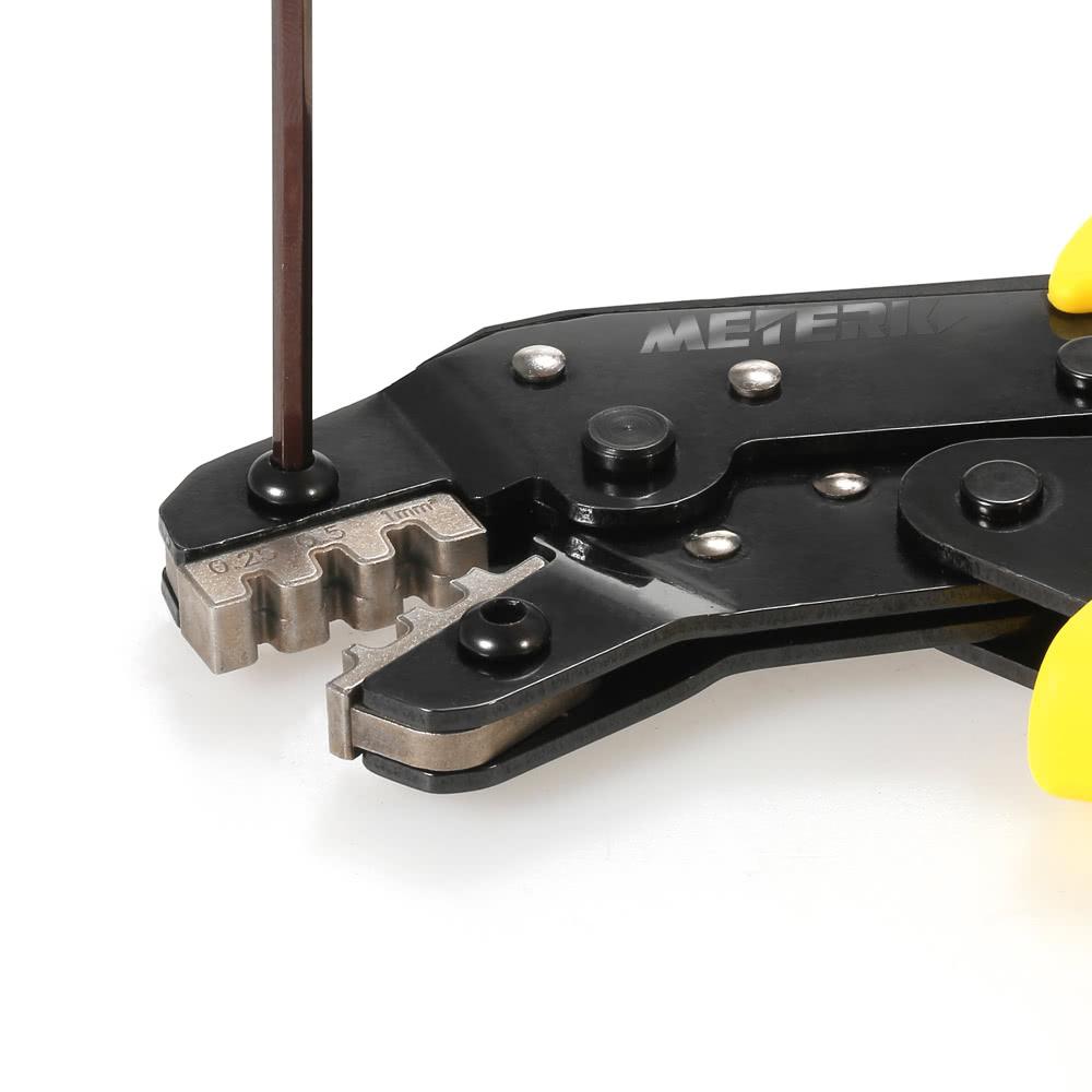 Meterk Professional Wire Crimper Engineering Ratchet Terminal ...